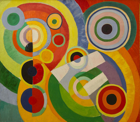 Rhythm, Joy of Life by Robert Delaunay