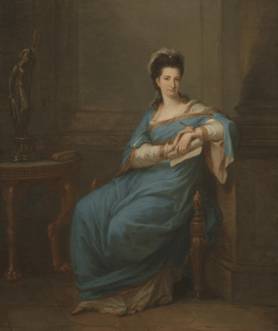 Portrait of a Lady Painting by Angelica Kauffman