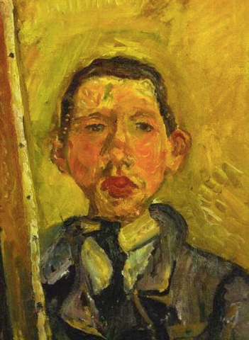 Self-Portrait by Chaim Soutine