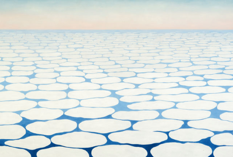 Sky Above Clouds Iv by Georgia O'Keeffe
