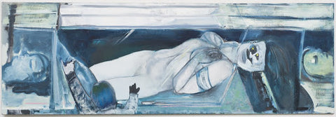 Snowwhite in the wrong Story by Marlene Dumas