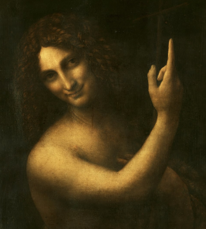 St John the Baptist by Leonardo da Vinci