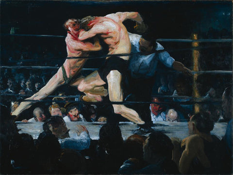 Stag Night At Sharkeys by George Bellows
