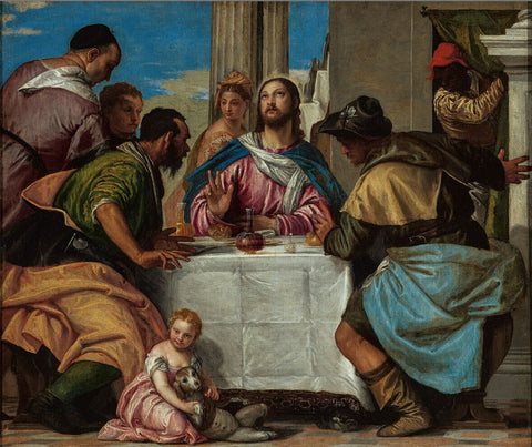 Supper in Emmaus by Paolo Veronese
