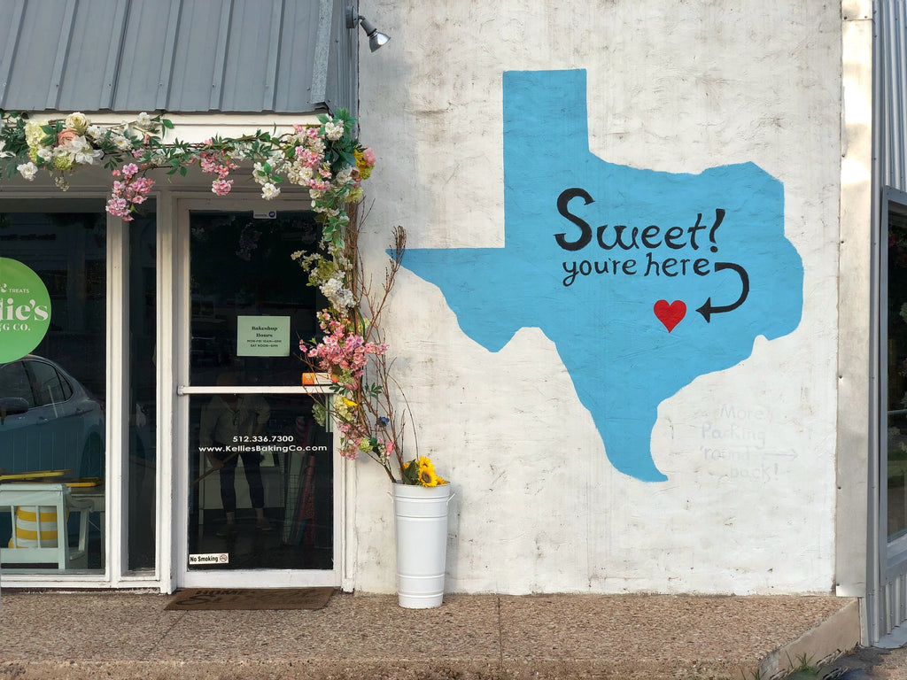 Sweet You're Here Austin mural