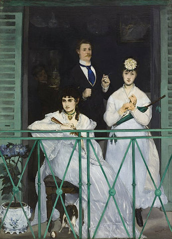 The Balcony by Édouard Manet