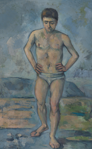 The Bather by Paul Cézanne