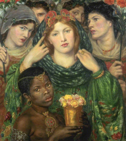 The Beloved by Dante Gabriel Rossetti
