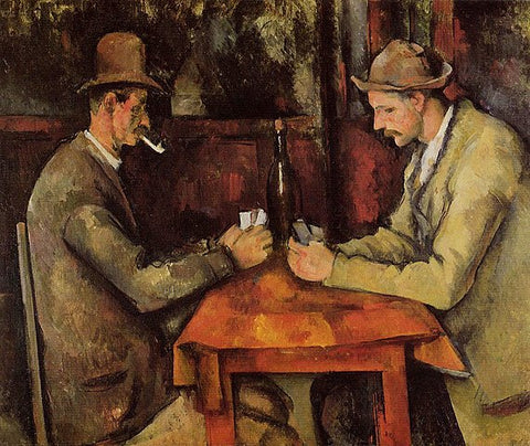 The Card Players Series by Paul Cézanne