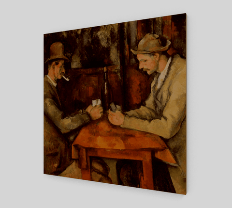 The Card Players Series Painting