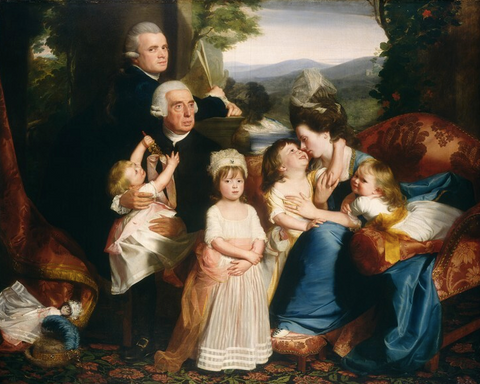 The Copley Family by John Singleton Copley