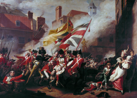 The Death of Major Peirson by John Singleton Copley