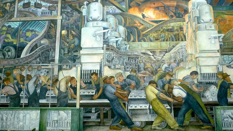 The Detroit Industry Fresco Cycle by Diego Rivera