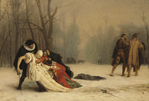 The Duel After the Masquerade by Jean-Léon Gérôme
