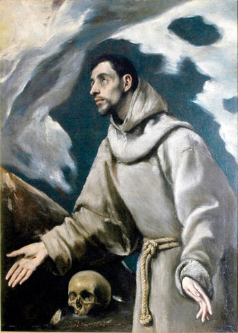 The Ecstasy of St. Francis of Assisi by El Greco