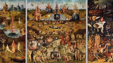 The Garden of Earthly Delights - Triptych by Hieronymus Bosch