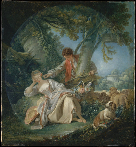 The Interrupted Sleep by François Boucher