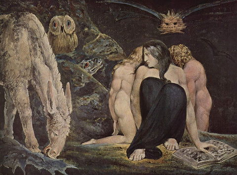 The Night of Enitharmon's Joy by William Blake
