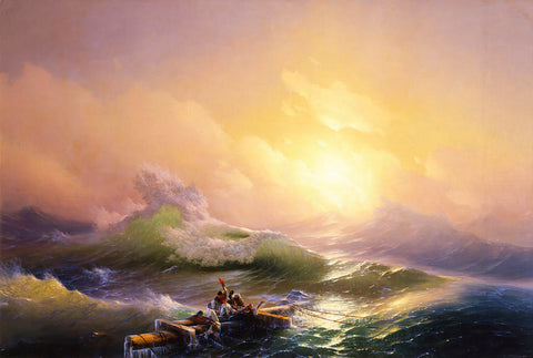 The Ninth Wave by Ivan Aivazovsky