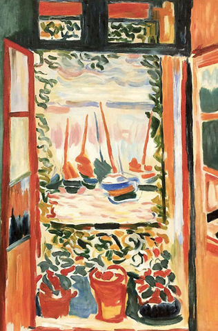 The Open Window by Henri Matisse