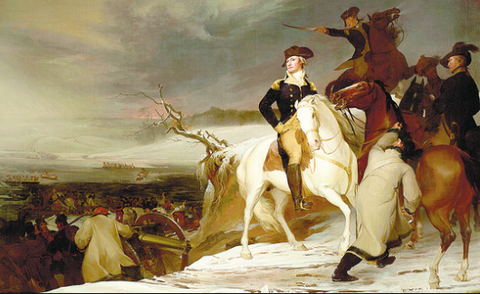 The Passage of The Delaware by Thomas Sully