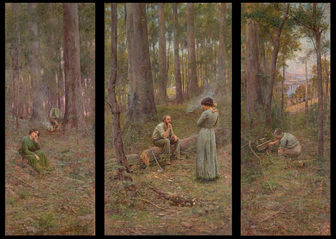 The Pioneer Painting by Frederick McCubbin