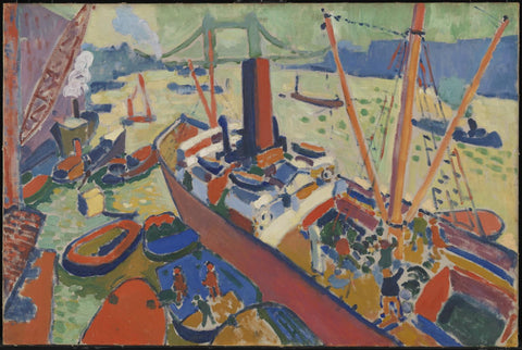 The Pool of London by André Derain