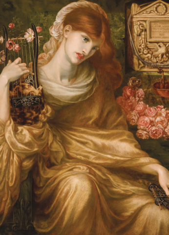 The Roman Widow by Dante Gabriel Rossetti