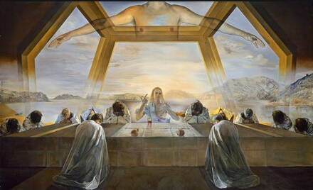 The Sacrament of the Last Supper Painting by Salvador Dali