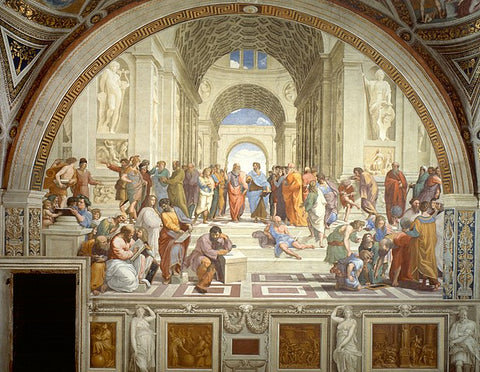 The School of Athen by Raffaello Sanzio da Urbino