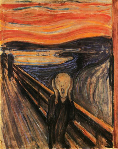 The Scream by Edvard Munch