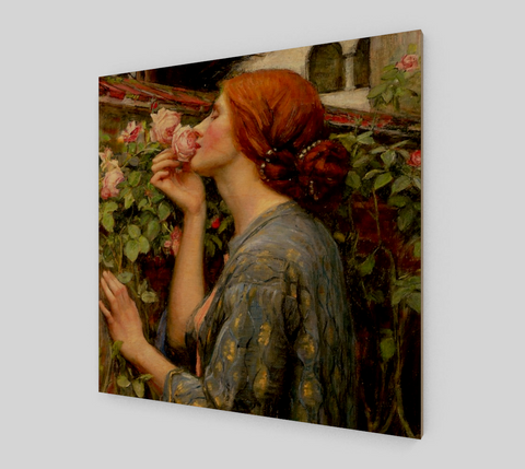 The Soul of the Rose Painting by John William Waterhouse