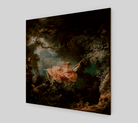 The Swing Painting by Fragonard Jean Honore