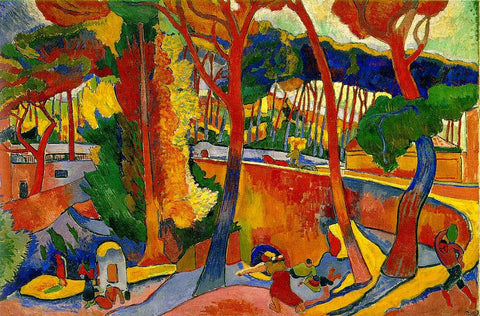 The Turning Road, L´Estaque by André Derain