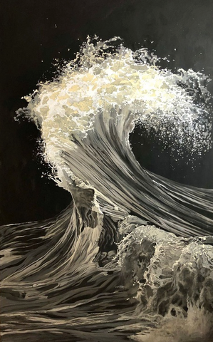 The Wave (L'Onda) by Genya Gritchin