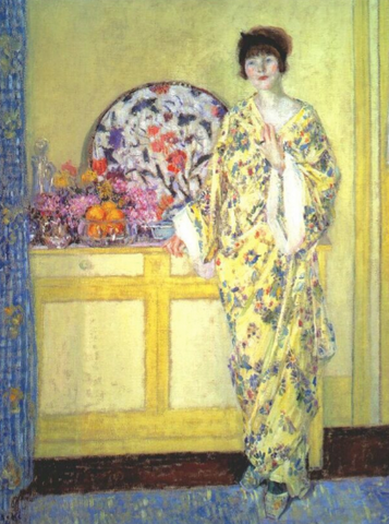 The Yellow Room by Frederick Carl Frieseke
