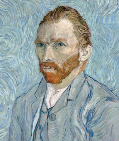 Van Gogh self-portrait by Vincent Van Gogh