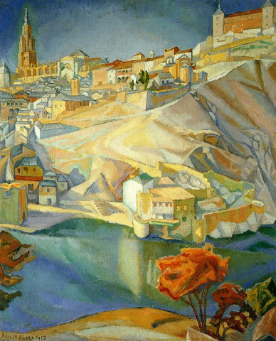 View of Toledo by Diego Rivera