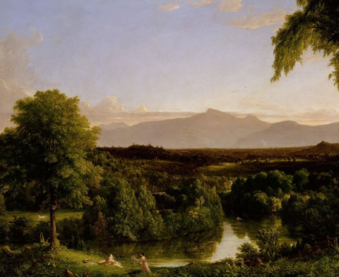 View on the Catskill—Early Autumn by Thomas Cole