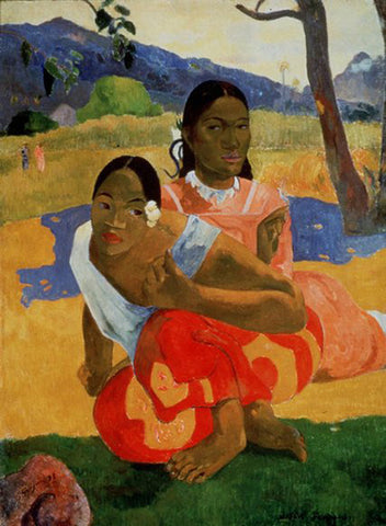 When Will You Marry? by Paul Gauguin