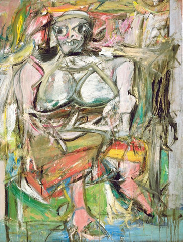 Woman I by Willem De Kooning