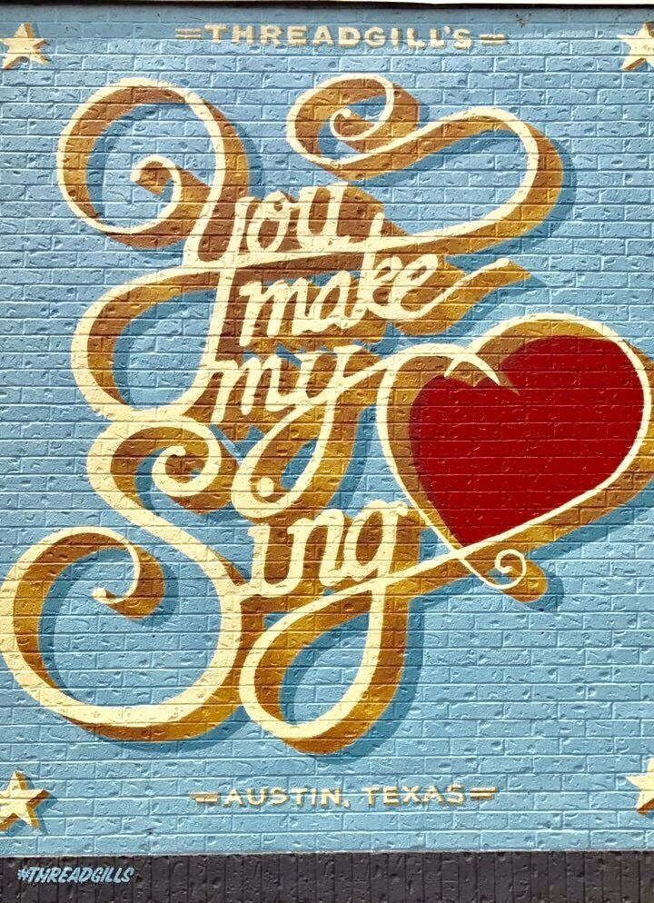 You Make My Heart Sing Mural