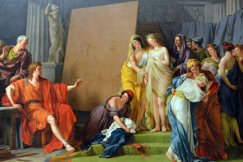 Zeuxis Selecting Models for Helen of Troy