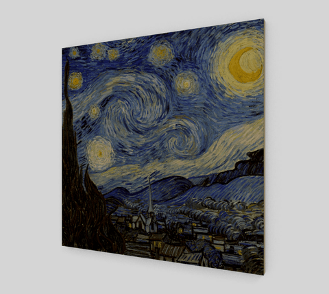 Starry Night Famous Painting By Vincent Van Gogh