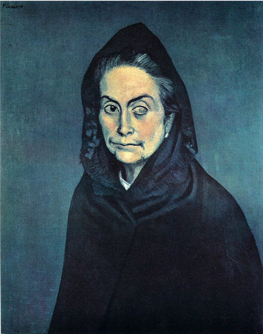Celestina Painting by Pablo Picasso