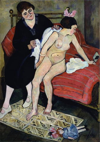 The Abandoned Doll Painting by Suzanne Valadon