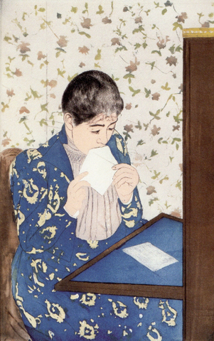 the letter by mary cassatt