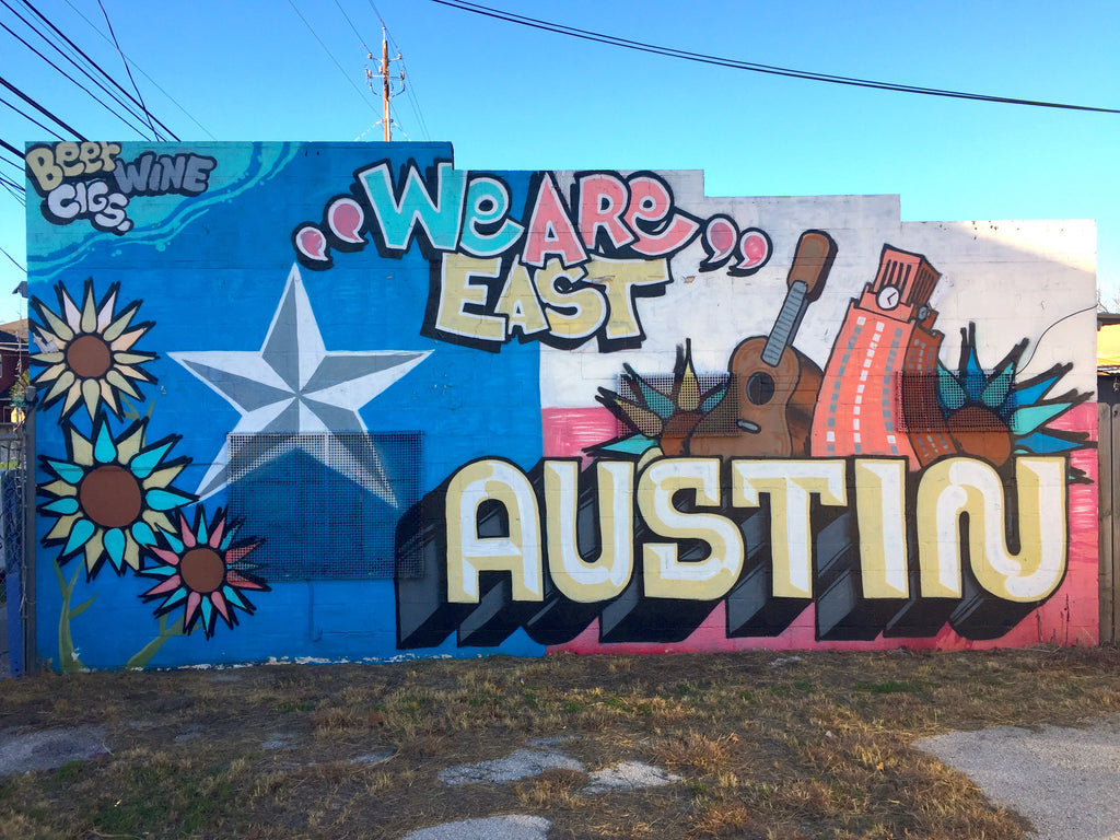 We Are East Austin Mural