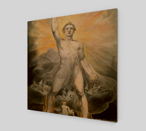The Angel of Revelation by William Blake [Wooden Canvas Prints]