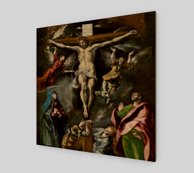 Crucifixion by El Greco | Canvas Fine Art Reproduction